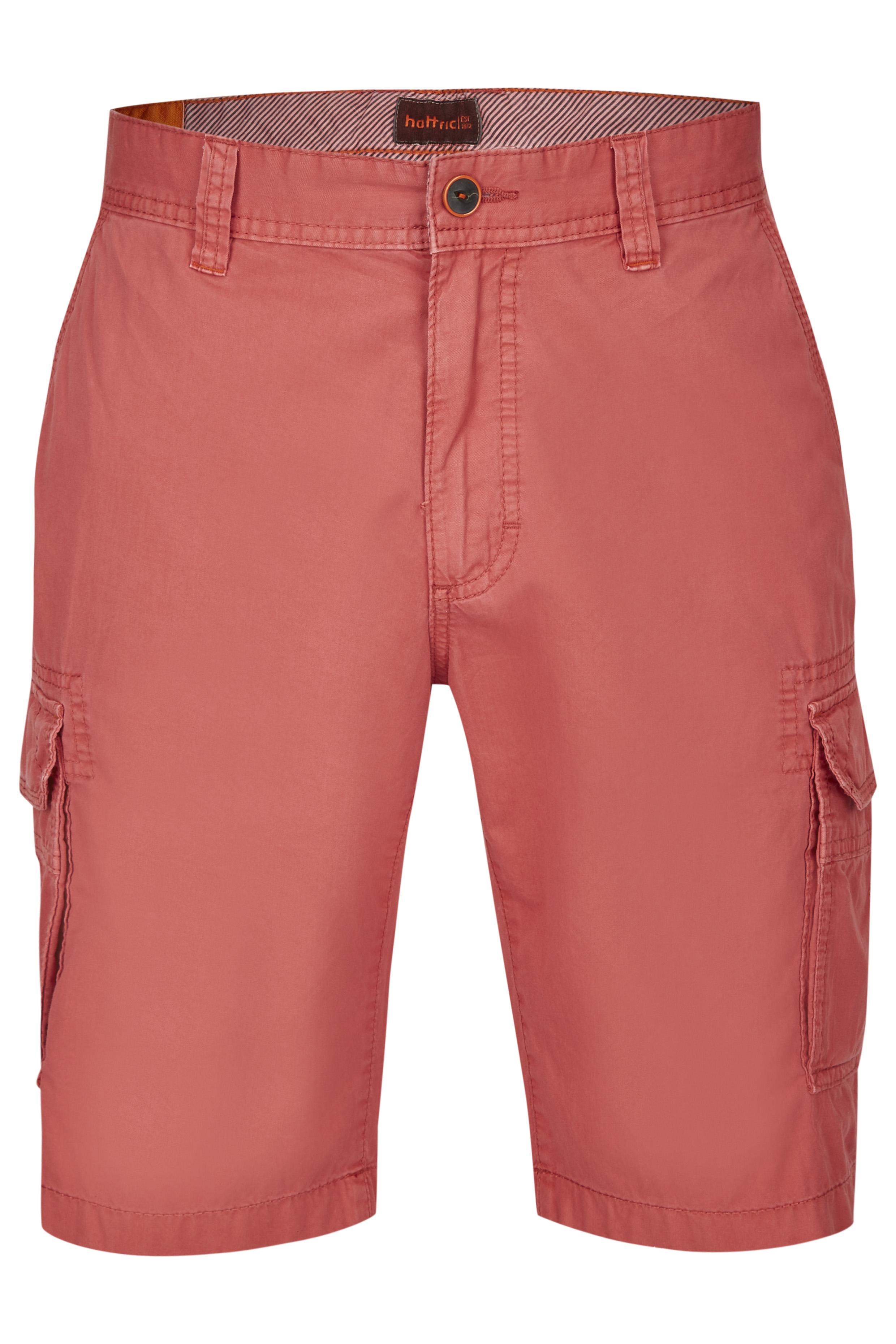 Hattric Jeans Cargohose Bermuda rot