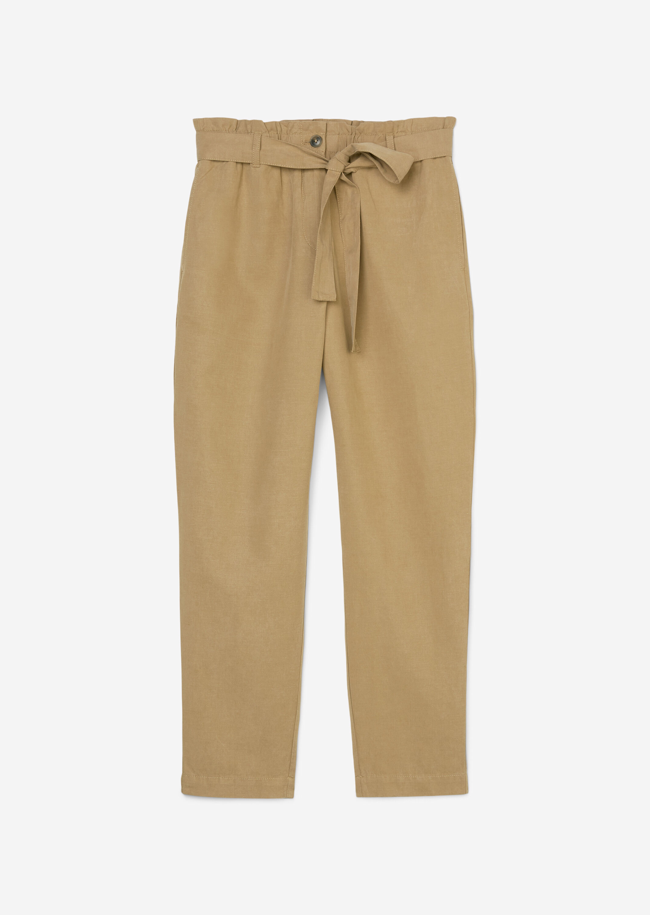 Marc O' Polo Paperbag-Pants beige