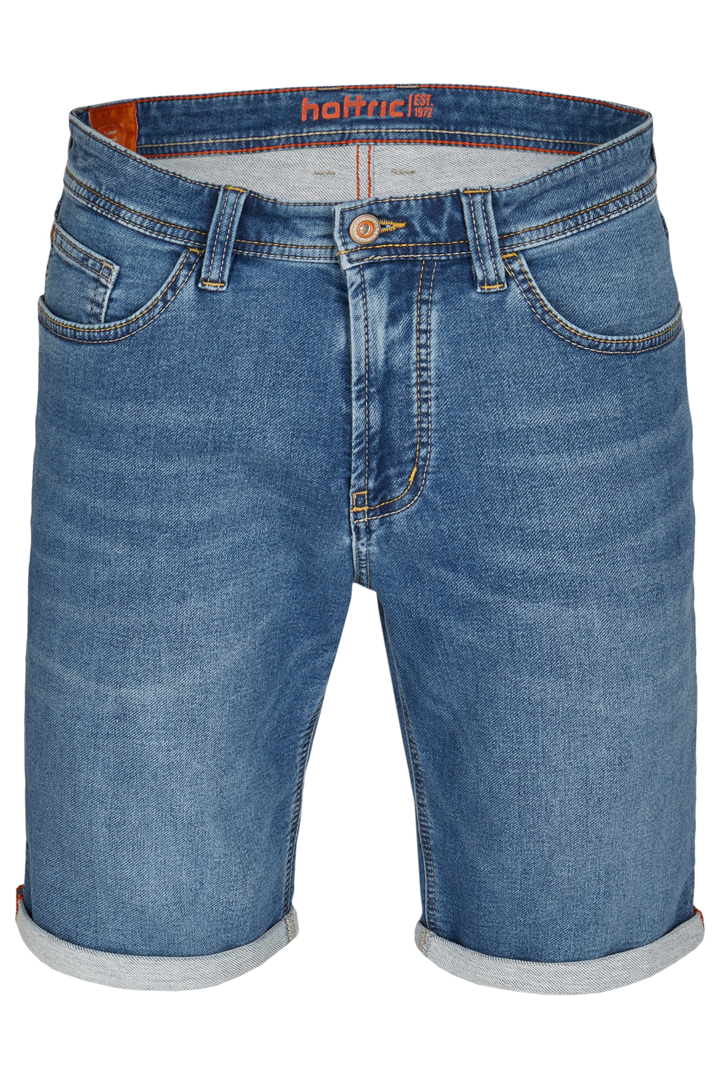 Hattric Jeans Bermuda kurze Hose