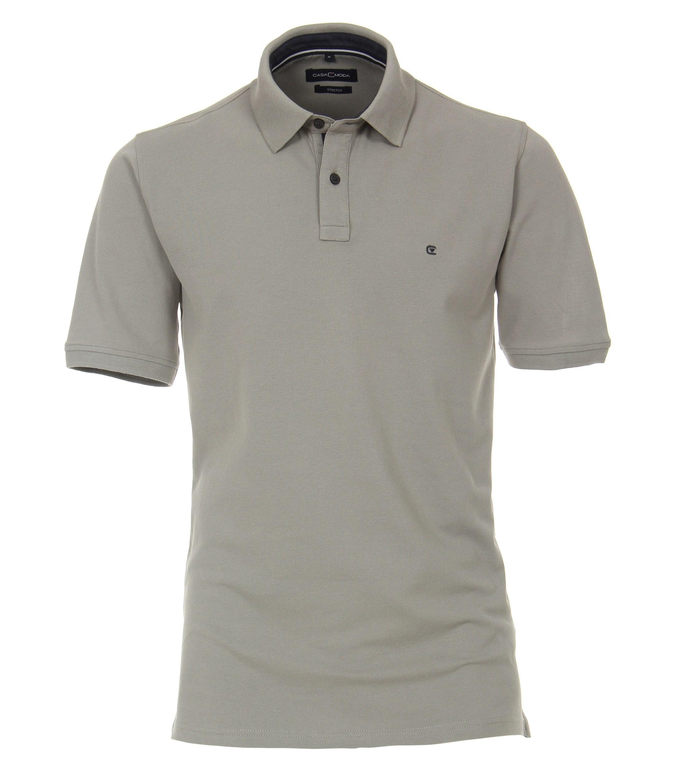 CasaModa Polo-Shirt, grau