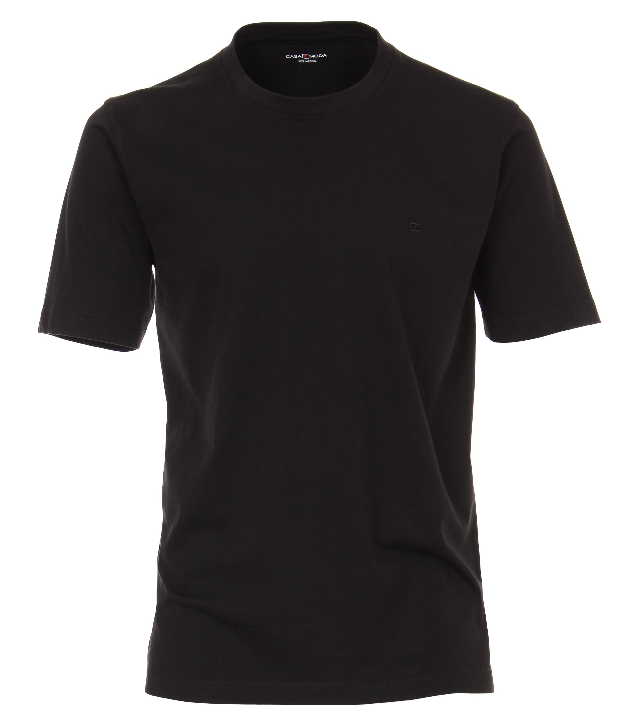 Casa Moda T-Shirt Halbarm Doppelpack Rundhals
