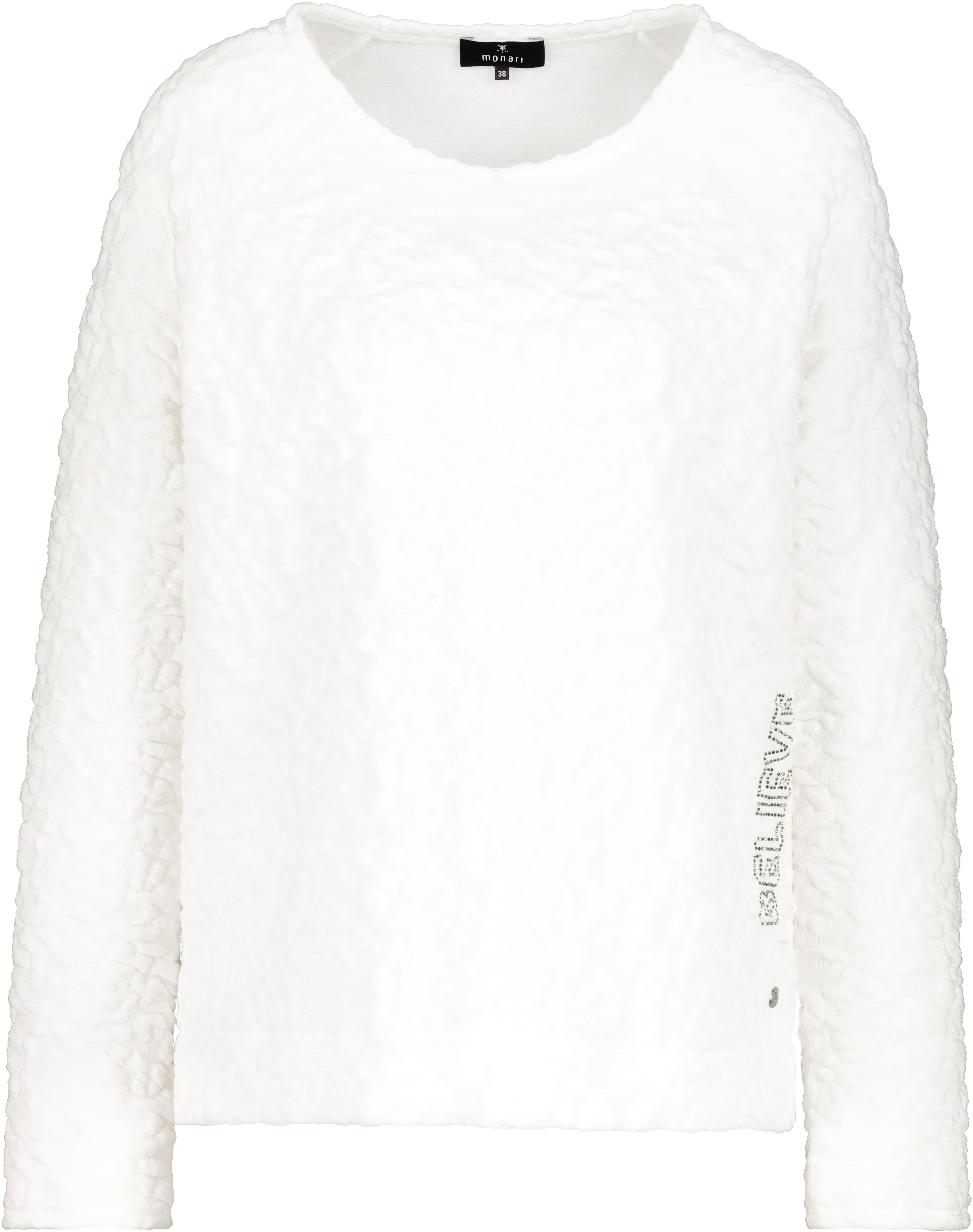Monari Pullover weiß