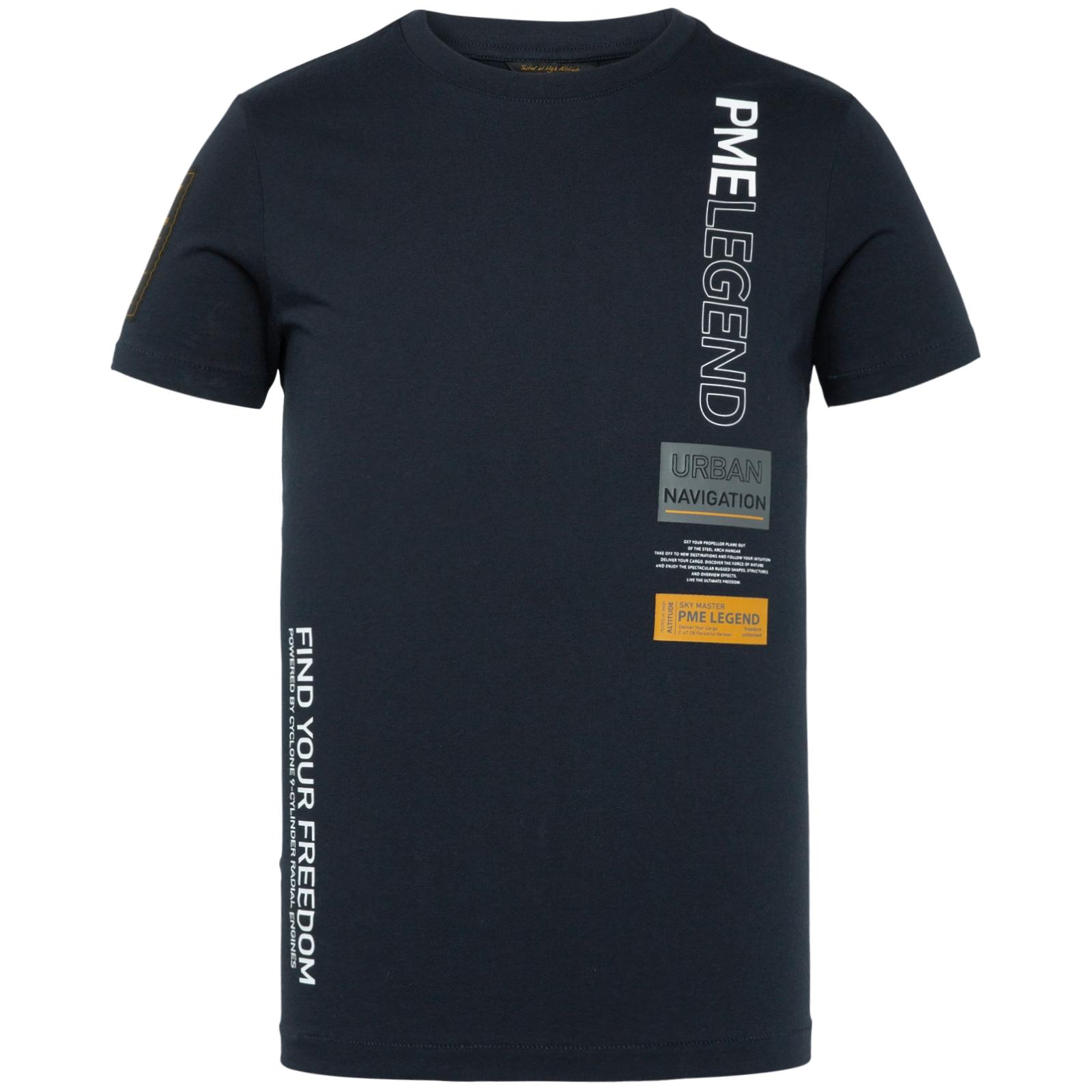 PME Legend T-Shirt marine mit Print