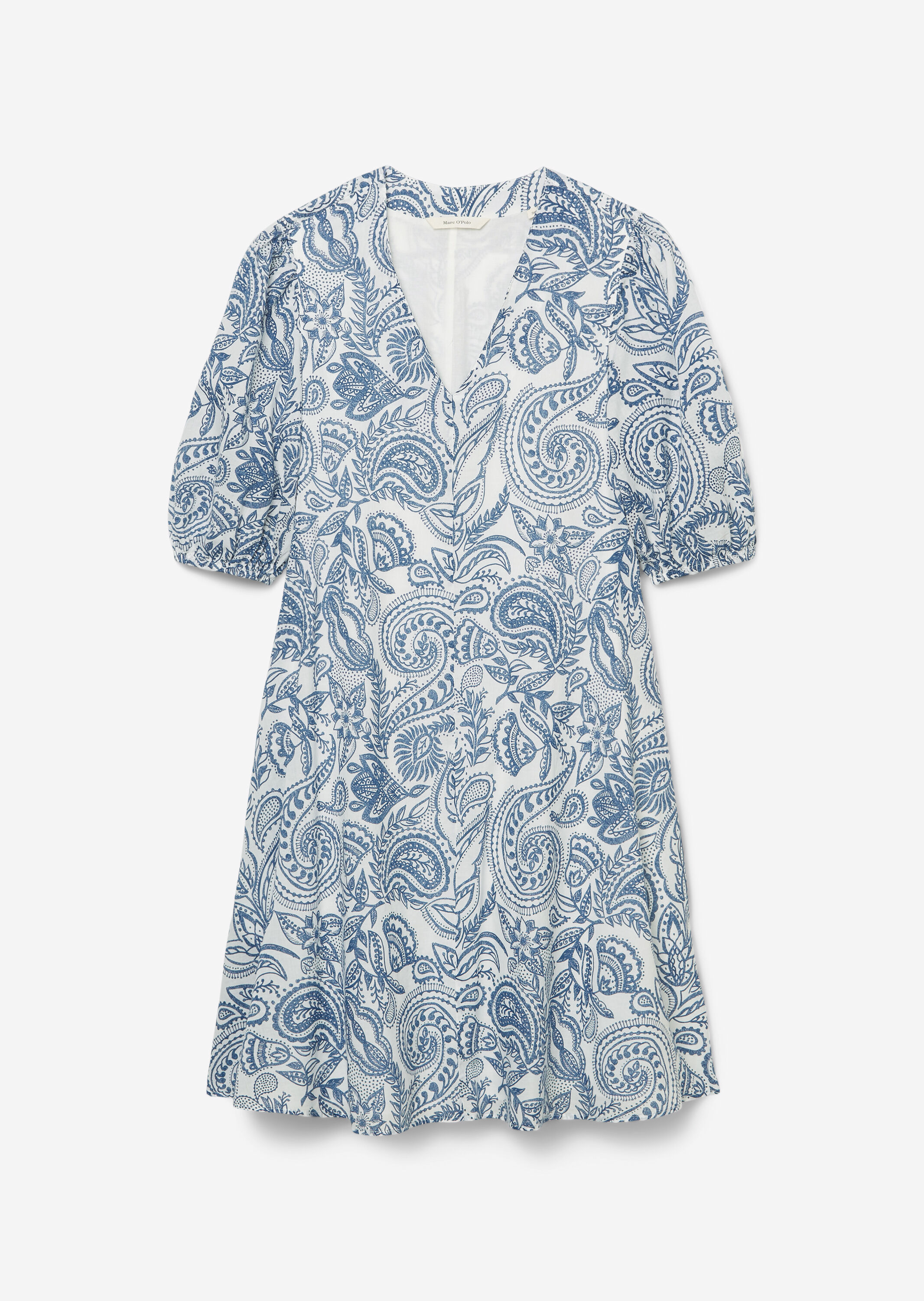 Marc O' Polo V-Neck-Kleid floral