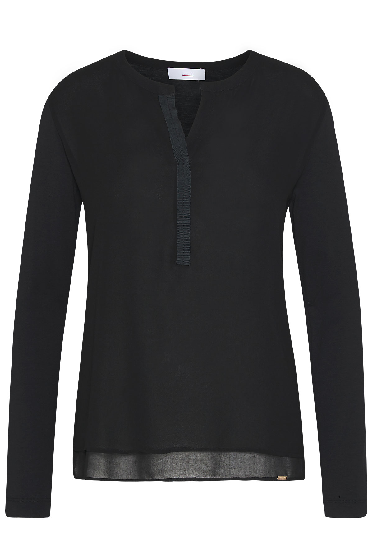 Cinque langarm Shirt schwarz