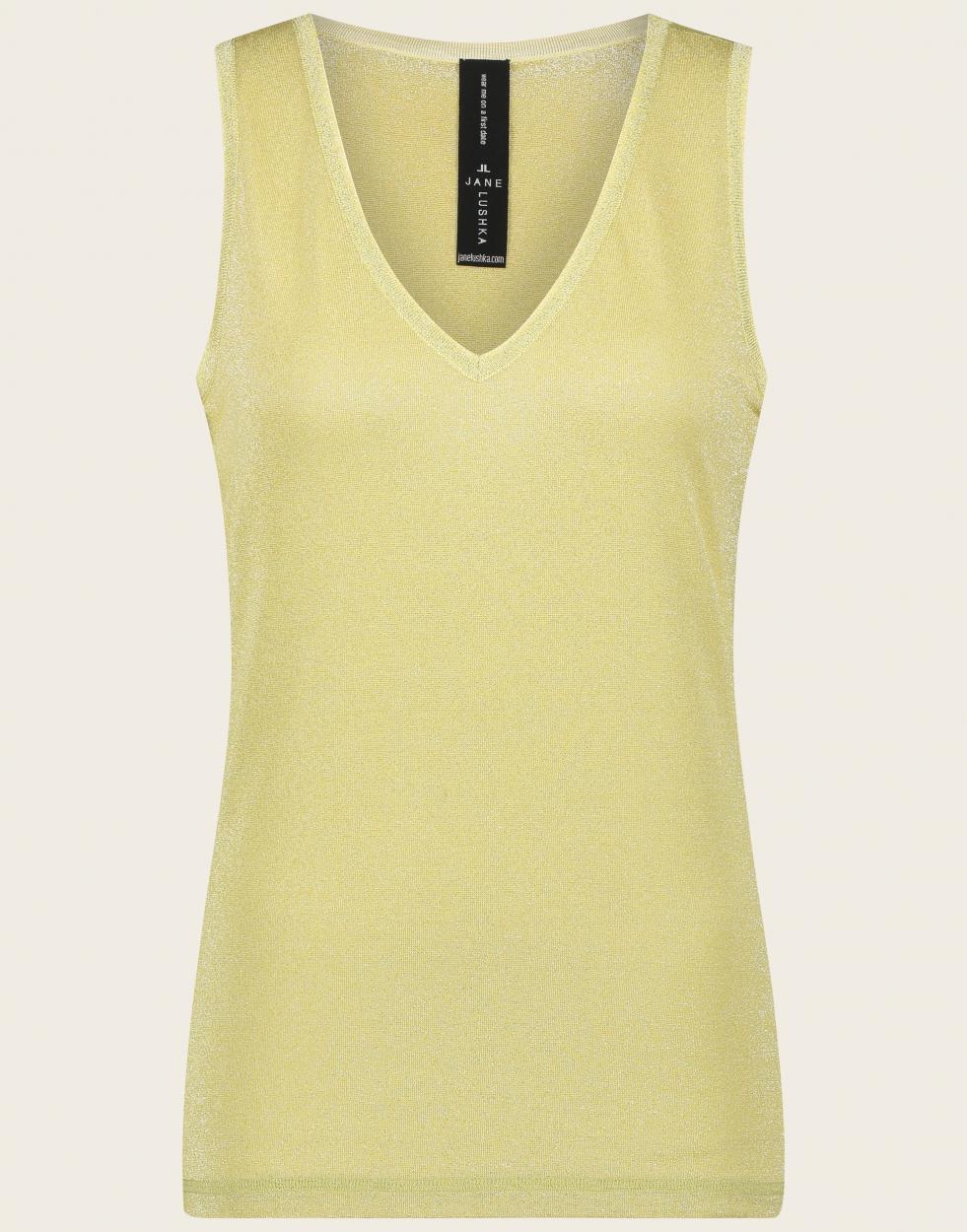 Jane Lushka ärmelloses Shirt gold