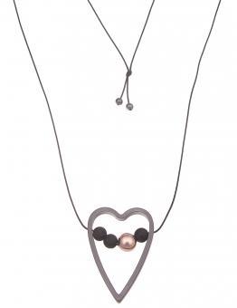 Leslii Halskette lang Herzchen