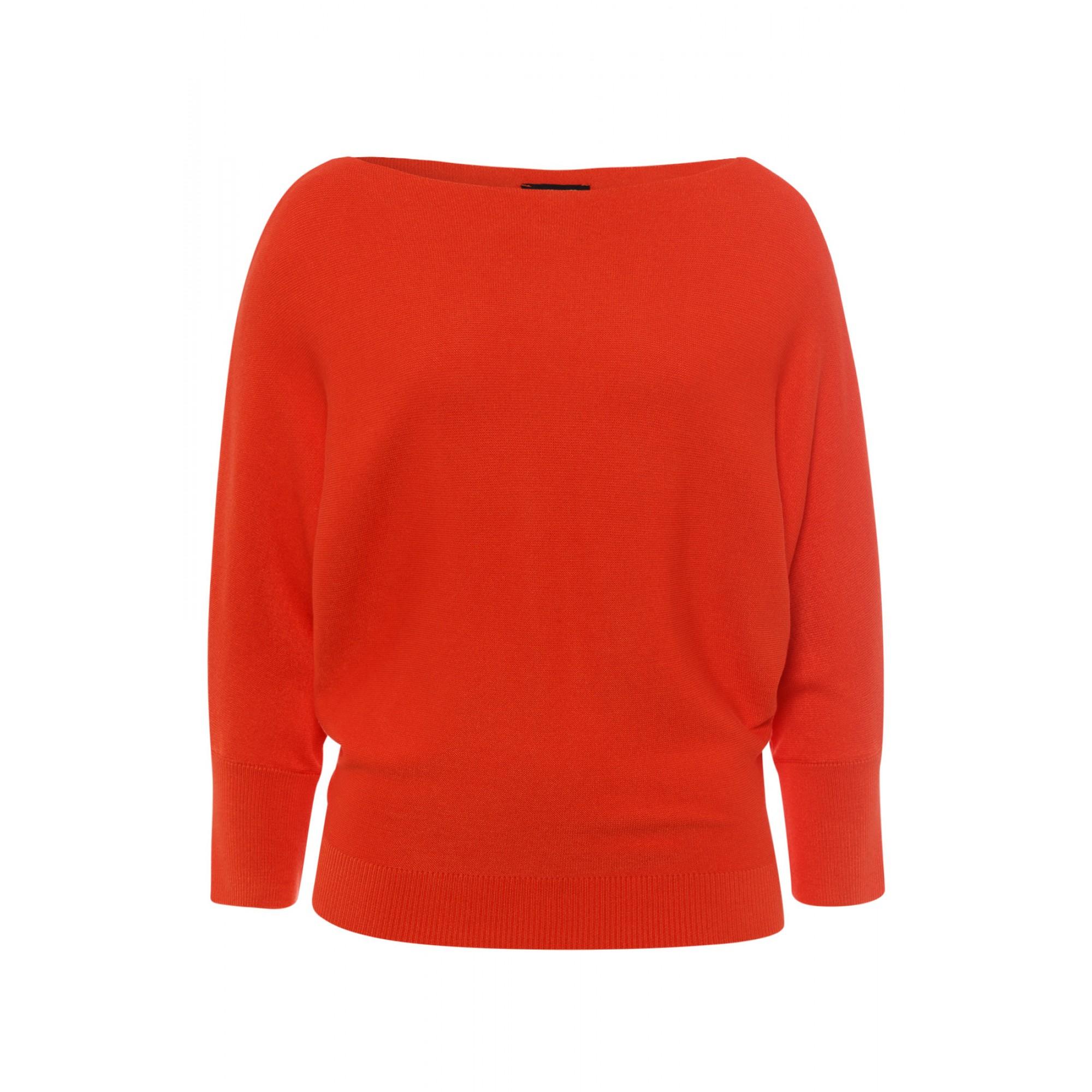 More & More Fledermaus-Pullover orange