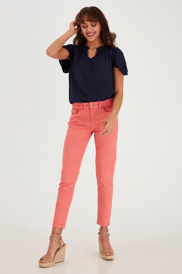 Fransa Jeans pink
