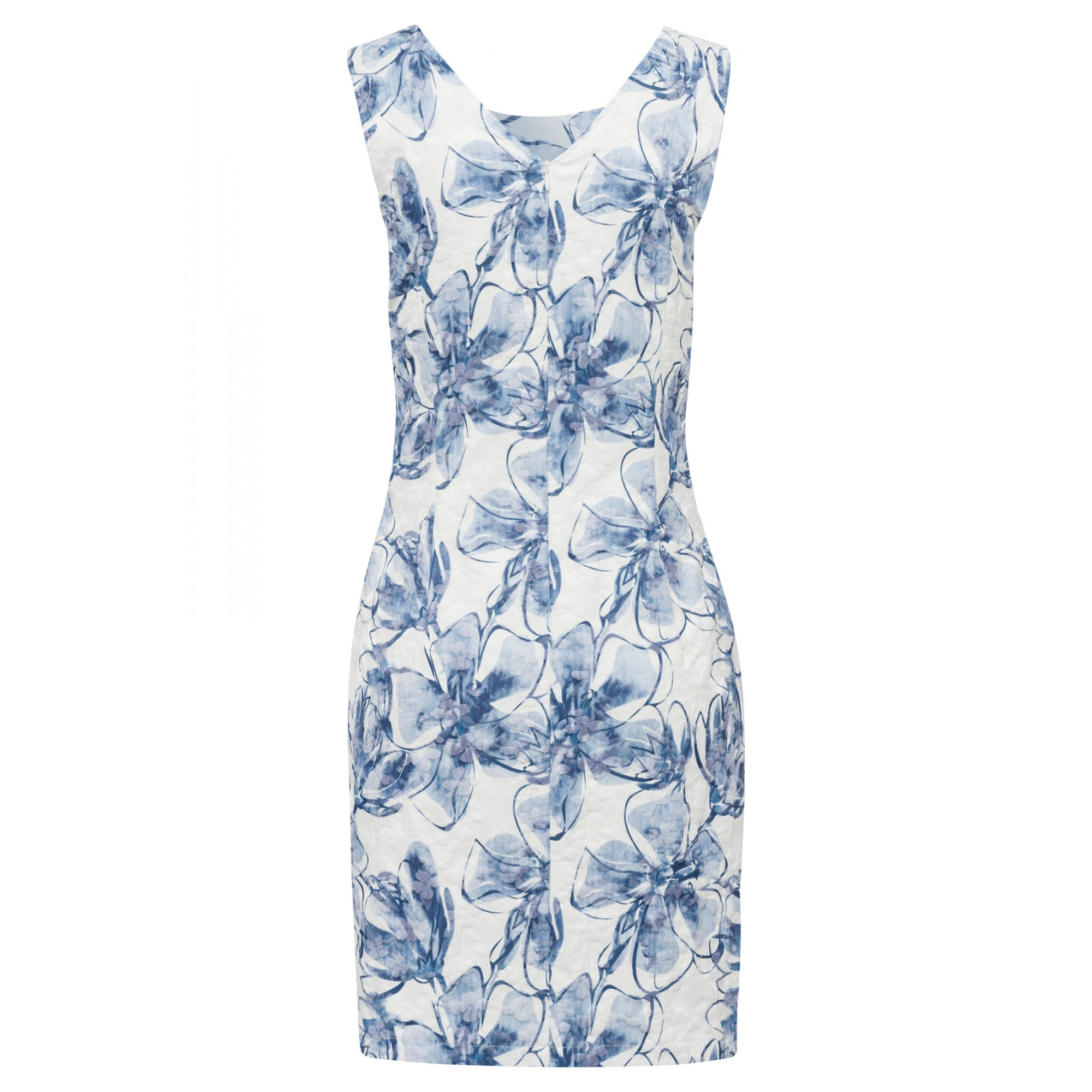 More & More Kleid kurz mehrfarbig gemustert