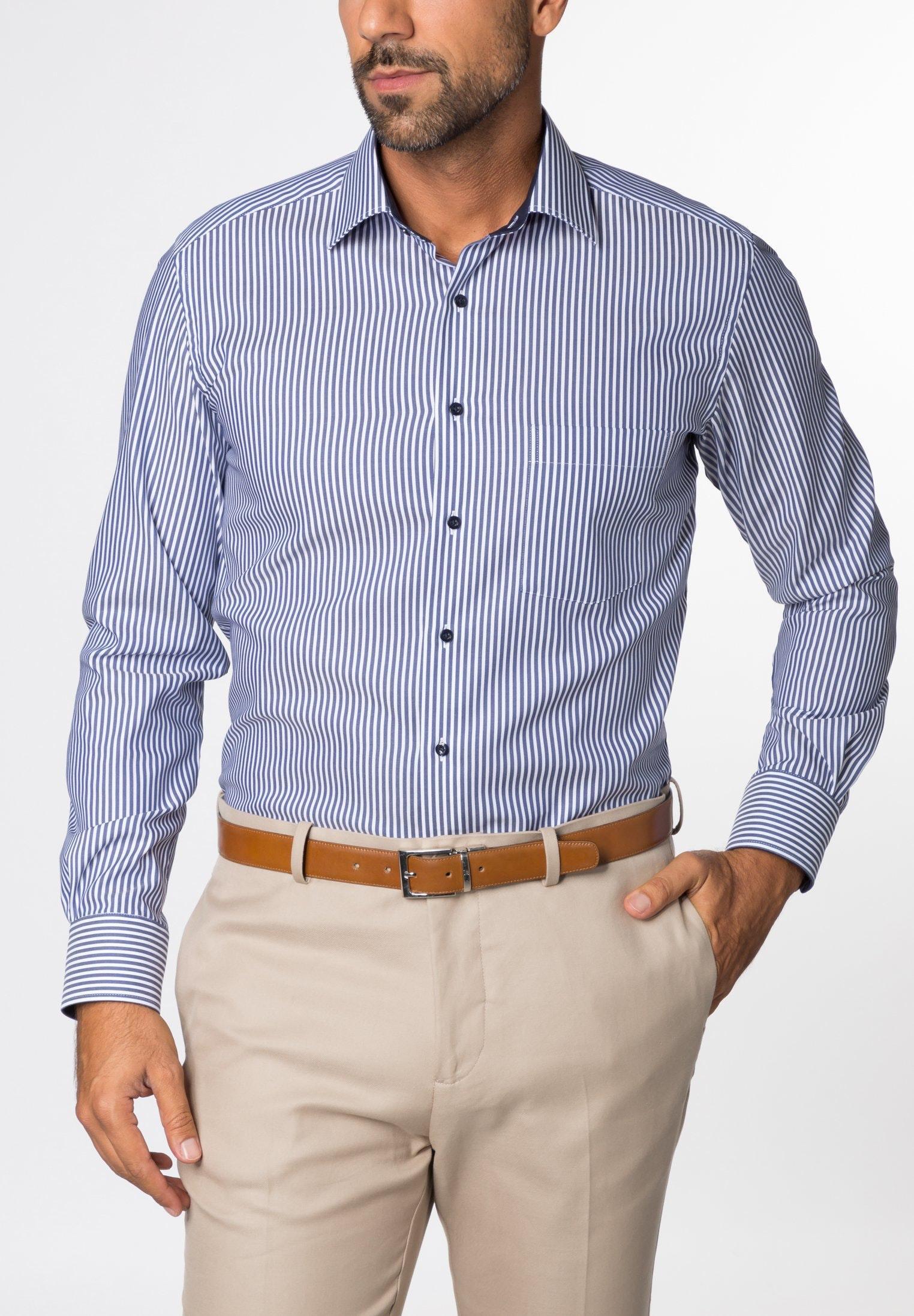 Eterna langarm Hemd modern