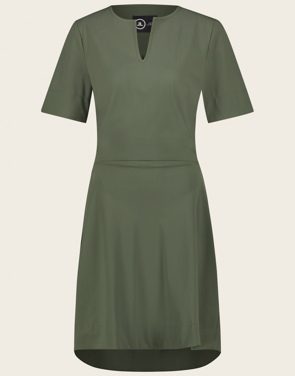 Jane Lushka Kleid mittellang grün