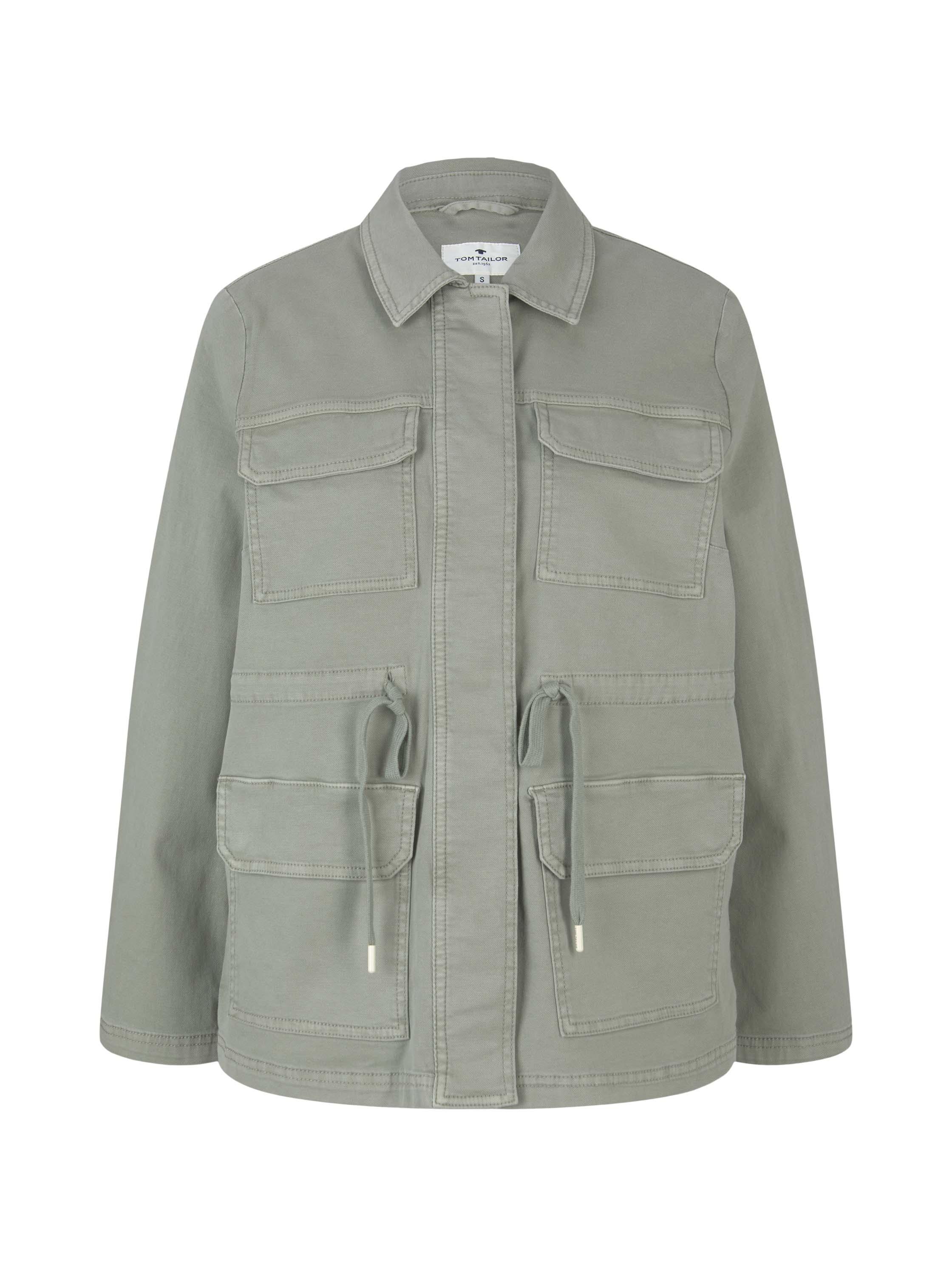 Tom Tailor Utility-Jacke grün