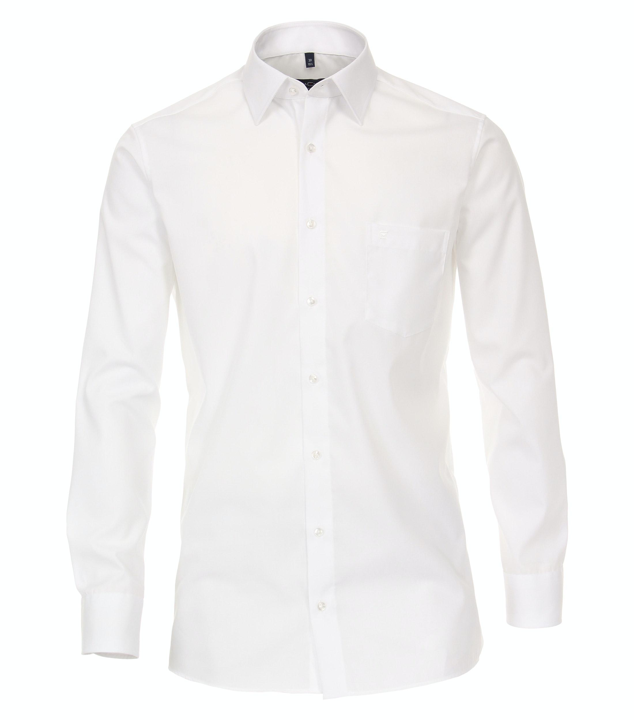 CasaModa Businesshemd aus Baumwolle, weiß