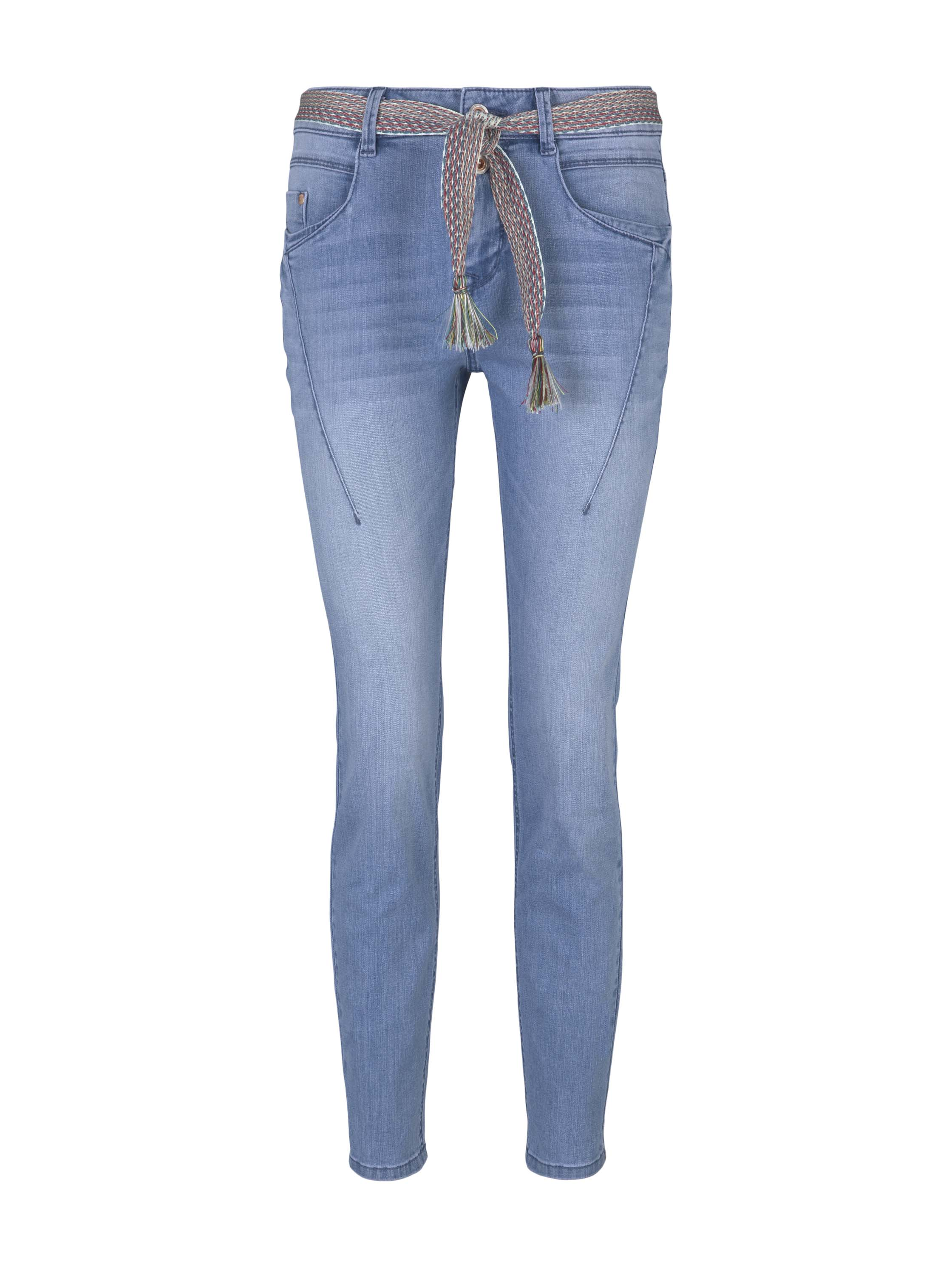 Tom Tailor Tapered relaxed Jeans, blau