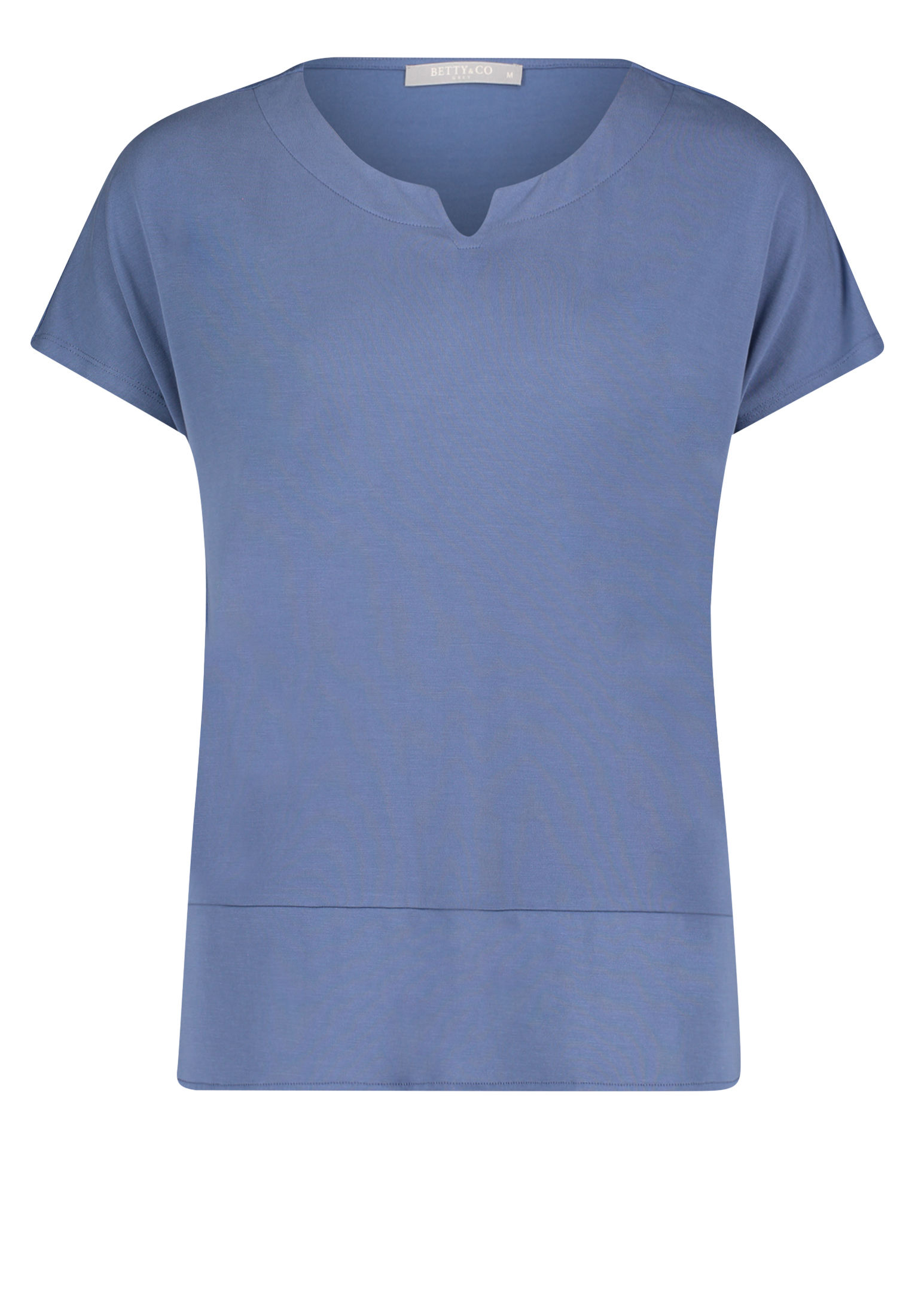 Betty & Co. kurzarm Shirt blau