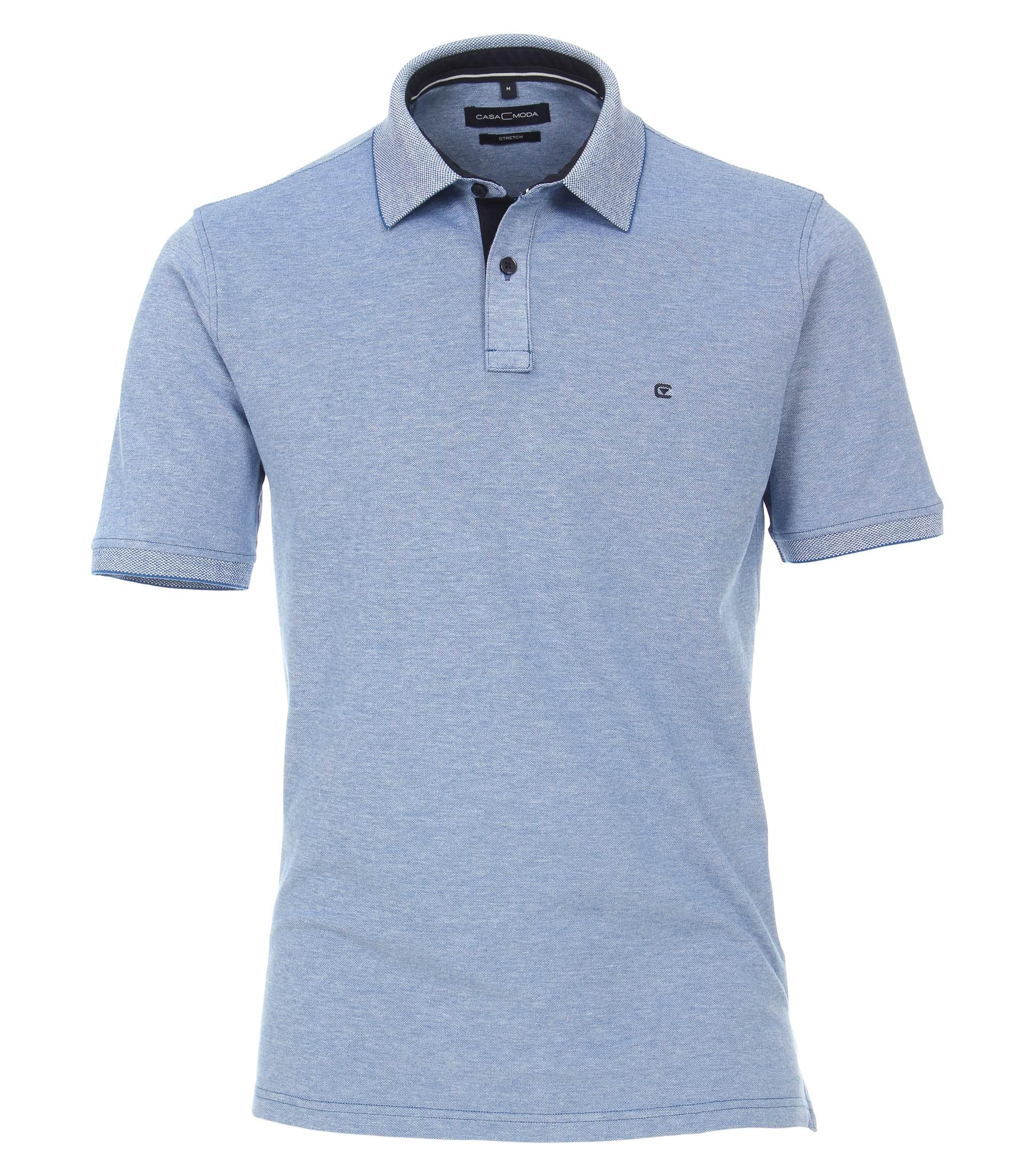 CasaModa Polo-Shirt, blau