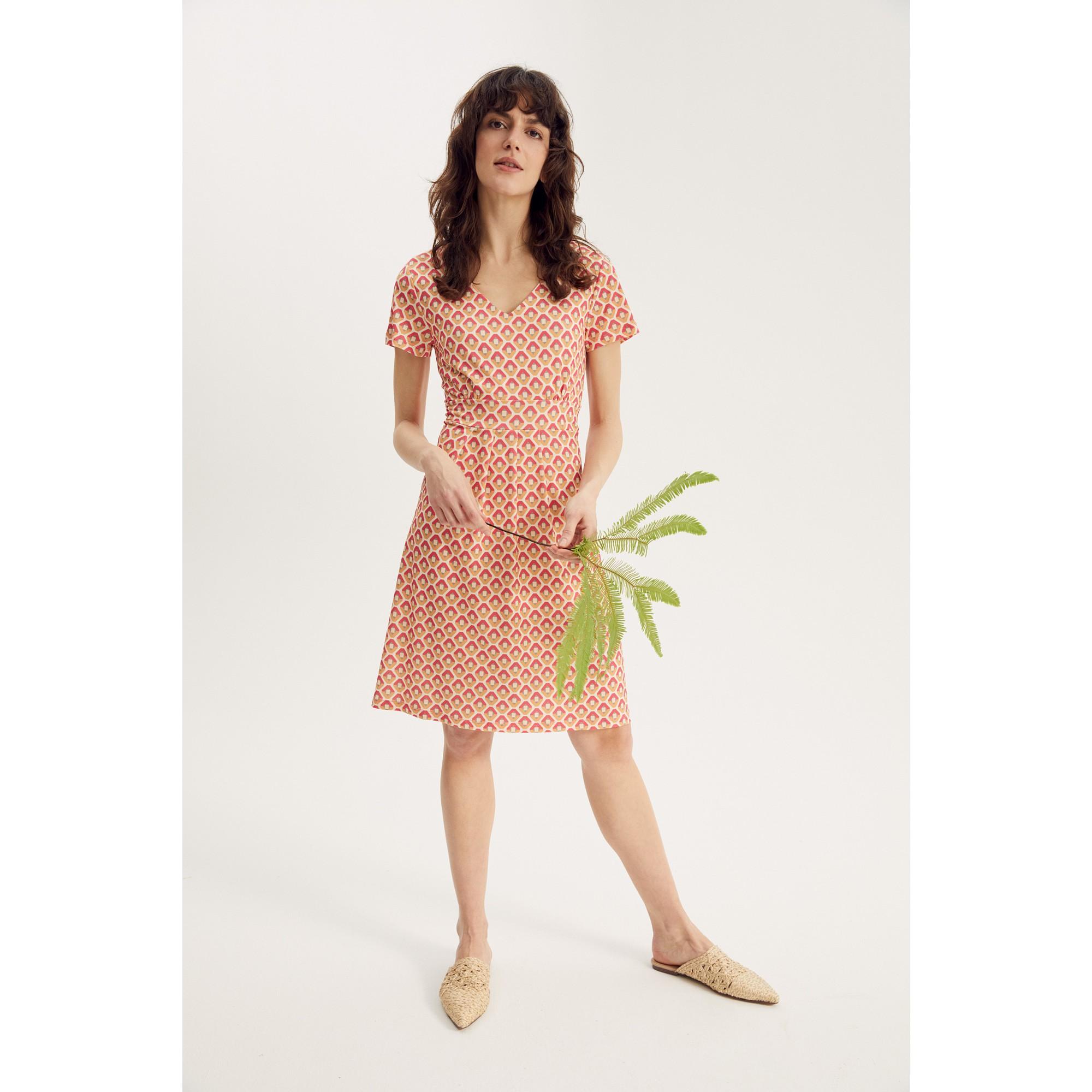More & More Jerseykleid mittellang rosa