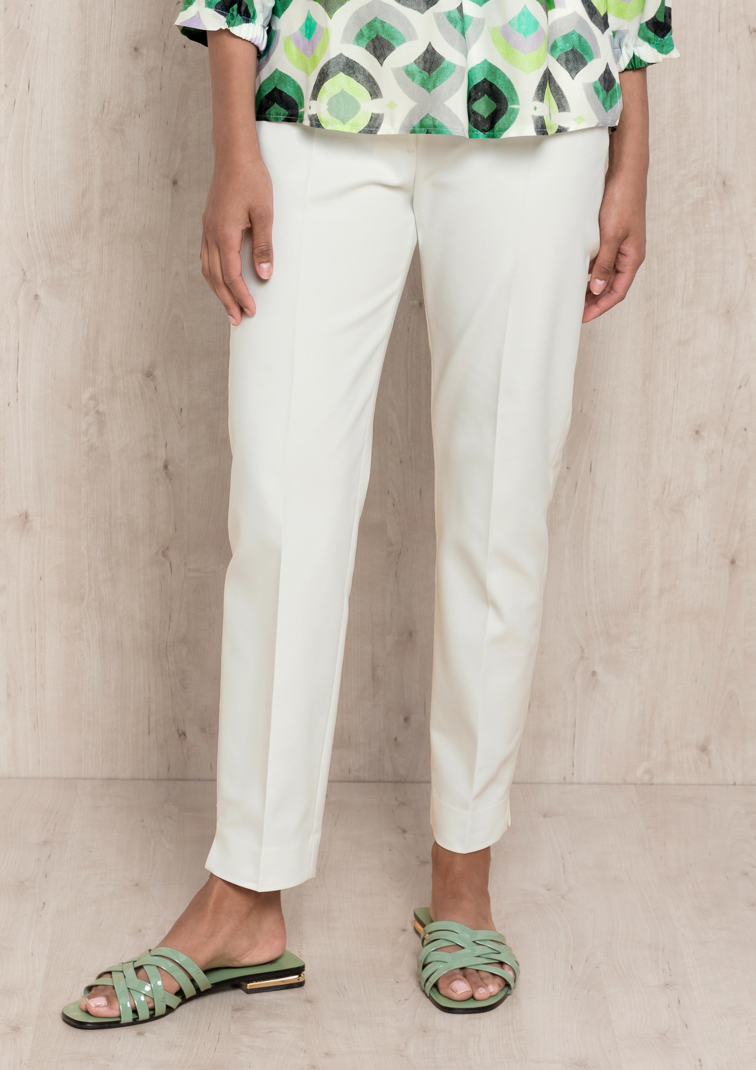 Bianca stylische Hose weiß
