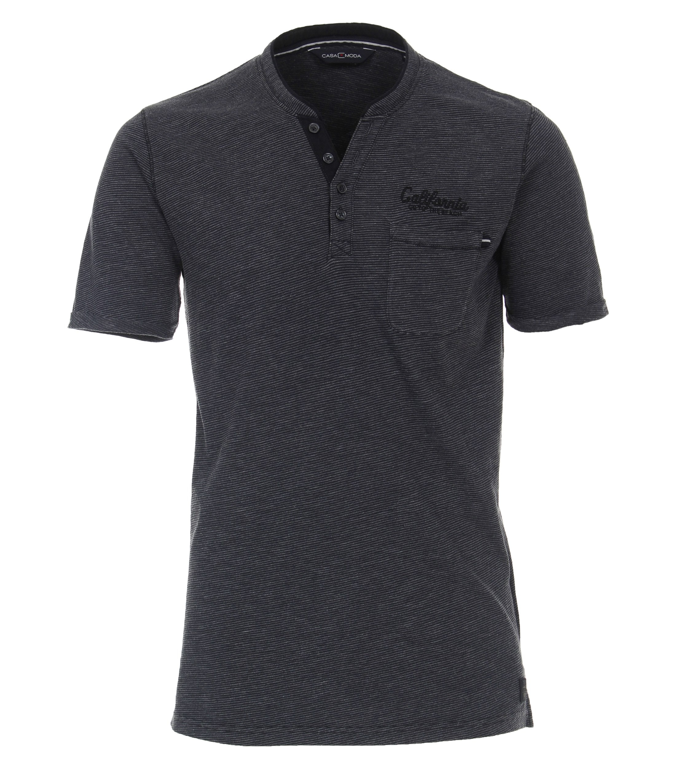 CasaModa kurzarm T-Shirt blau
