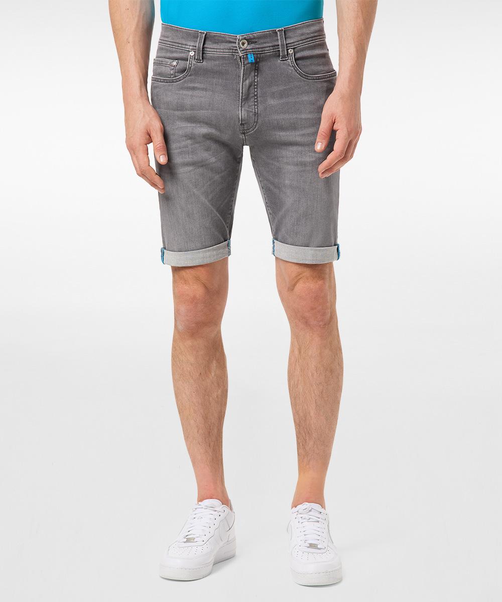 Pierre Cardin Bermuda Jeans Lyon grau