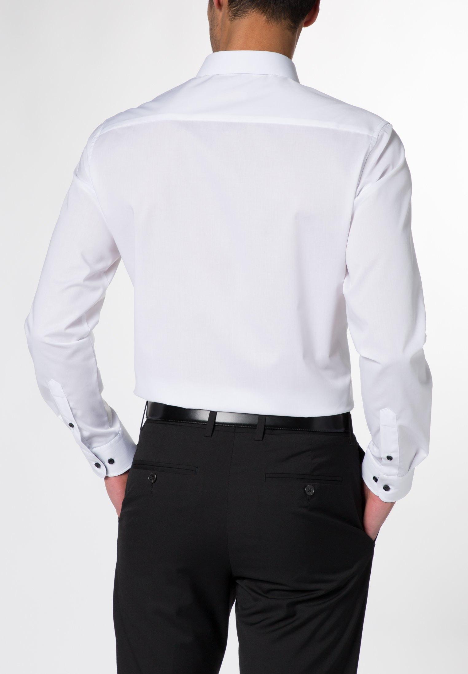 Eterna langarm Hemd slim stretch