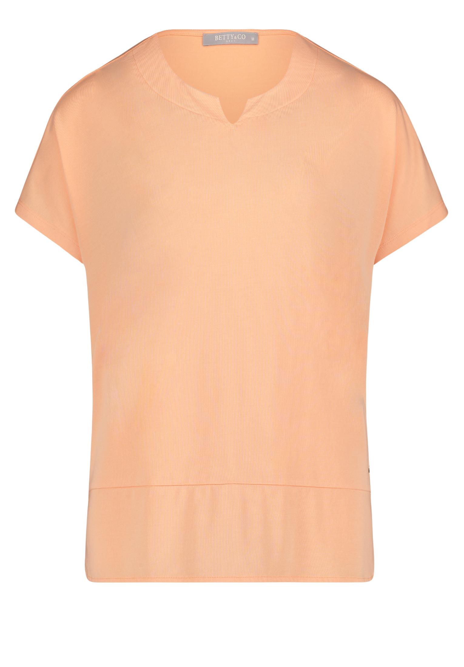 Betty & Co. kurzarm Shirt apricot